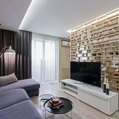: Гостиная в . Автор – EUGENE MESHCHERUK   |  architecture & interiors