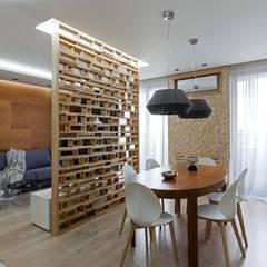 اتاق غذاخوری توسطEUGENE MESHCHERUK   |  architecture & interiors, مدرن