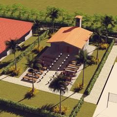 Capela Hotel Tree Bies: Hotéis  por P2 Arquitetos Associados