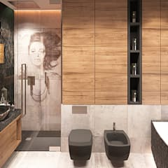 Bathroom by FAMM DESIGN