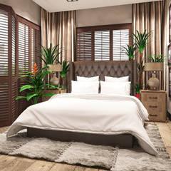 ห้องนอน by FAMM DESIGN