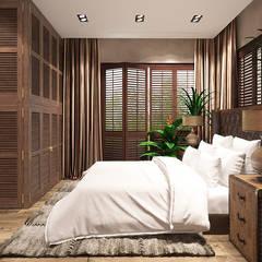 KLIMATYCZNY WILANÓW: styl , w kategorii Sypialnia zaprojektowany przez FAMM DESIGN