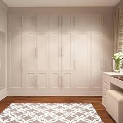 AMERYKAŃSKI LOOK: styl , w kategorii Garderoba zaprojektowany przez FAMM DESIGN