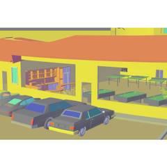 "Desarrollo Turístico ""CAMPO REAL"": Casas de estilo  por YURAKU SUAREZ"