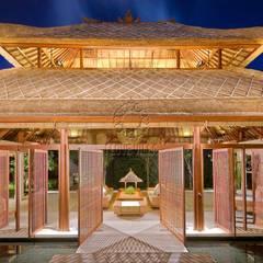 pabellón tropical : Hoteles de estilo  de Ale debali study