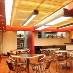 JENO'S PIZZA GOURMET / USAQUÉN / : Locales gastronómicos de estilo  por Kraft Atomo Arquitectura / Urbanismo / Paisajismo