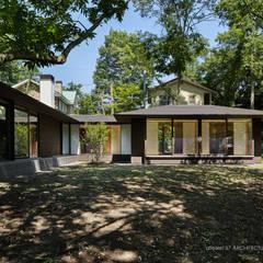 041軽井沢Mさんの家: atelier137 ARCHITECTURAL DESIGN OFFICEが手掛けた家です。,クラシック 木 木目調