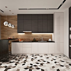 scandinavian Kitchen by GM-interior