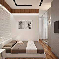 Дизайн интерьера двухкомнатной квартиры ЖК Фили Град : Спальни в . Автор – GM-interior