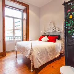 غرفة نوم تنفيذ alma portuguesa , ريفي