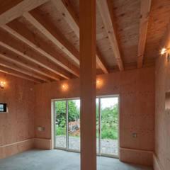 神戸町の家: FrameWork設計事務所が手掛けた廊下 & 玄関です。