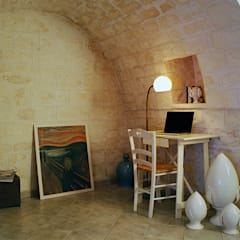 Trulli 66: Studio in stile  di ABBW angelobruno building workshop