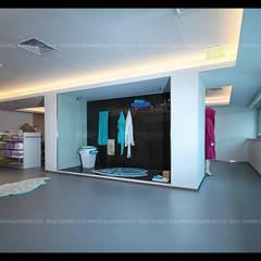REMODELAÇÃO - Fábrica Habidecor Espaços comerciais minimalistas por Diogo Almeida - Arquitecto Minimalista