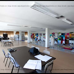 REMODELAÇÃO - Fábrica Habidecor: Espaços comerciais  por Diogo Almeida - Arquitecto