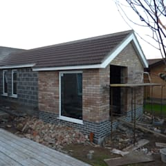 Extension windows going in de JMAD Architecture (previously known as Jenny McIntee Architectural Design)