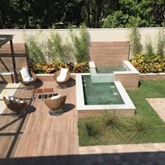 Garden by GEA Arquitetura, Tropical