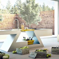 ZED EXPERIENCE versione cucina Home: Cucina in stile  di ZED EXPERIENCE - indoor & outdoor kitchen