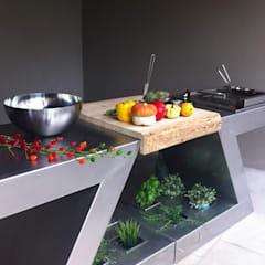 Cocinas de estilo  por ZED EXPERIENCE - indoor & outdoor kitchen