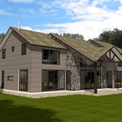 Rumah oleh ARQvision BIM Sustainable Architecture