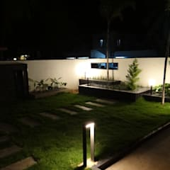 residence of Mr.Lakshman soni:  Garden by Hasta architects