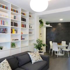 غرفة المعيشة تنفيذ studio ferlazzo natoli, تبسيطي