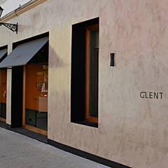 Tienda Glent: Paredes de estilo  de FUTURCRET