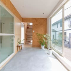 Conservatory by 水石浩太建築設計室/ MIZUISHI Architect Atelier