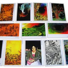 serie de postales para exposición del artista plástico Eduardo Bol Pereira.: Arte de estilo  por Katherine Aguilar