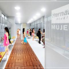 Acuática Hernández: Escuelas de estilo  por NUV Arquitectura