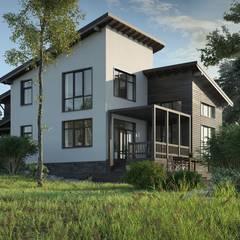 Проект дома + проект интерьера: Дома в . Автор – Studio of Architecture and Design 'St.art'