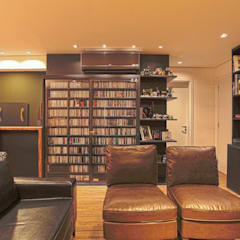 Apartamento AF: Salas multimídia  por Super StudioB