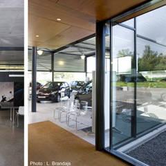 Car Dealerships by VORTEX atelier d'architecture