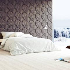 3D Wall Panel // Dekorative 3D Wandepaneele: styl , w kategorii Sypialnia zaprojektowany przez Artpanel 3D Wall Panels