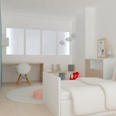 Nursery/kid's room by Studio Transparente