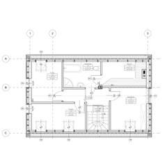 Rzut piętra: styl , w kategorii Domy zaprojektowany przez 2L_studio