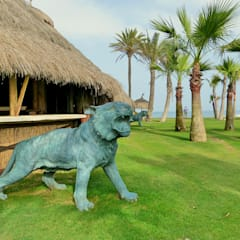 Tigre de bronce : Salones de estilo  de Conely