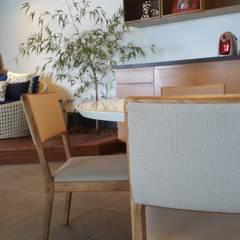 O espaço após a reforma.: Salas de jantar  por Lucio Nocito Arquitetura e Design de Interiores