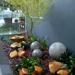 JARDINS E FONTES: Jardins  por Borges Arquitetura & Paisagismo