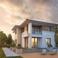 CYPRYS 8: styl , w kategorii Domy zaprojektowany przez Biuro Projektów MTM Styl - domywstylu.pl,