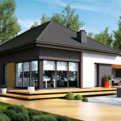 Projekt domu HomeKONCEPT-27: styl , w kategorii Domy zaprojektowany przez HomeKONCEPT | Projekty Domów Nowoczesnych