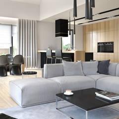 Projekt domu HomeKONCEPT-27: styl , w kategorii Salon zaprojektowany przez HomeKONCEPT | Projekty Domów Nowoczesnych