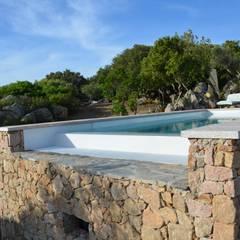 Panoramarinne des GFK Pools: mediterraner Pool von Hesselbach GmbH