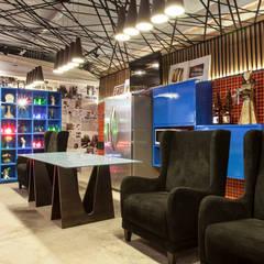 مطاعم تنفيذ Maria Julia Faria Arquitetura e Interior Design