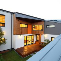 중정야경: 주택설계전문 디자인그룹 홈스타일토토의  주택