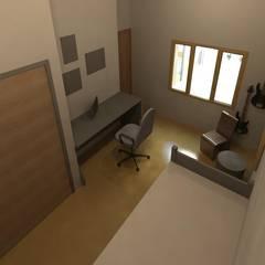 Dormitorio : Dormitorios infantiles de estilo moderno por Area61 Arquitectura