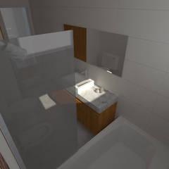 Proyecto Remodelación de Departamento: Baños de estilo  por Oficina de Diseño y Arquitectura