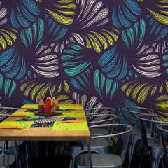 Modern Jungle:  Walls by Pixers