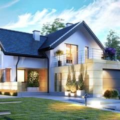 Projekt domu HomeKONCEPT-07: styl , w kategorii Domy zaprojektowany przez HomeKONCEPT   Projekty Domów Nowoczesnych