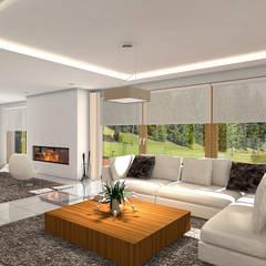 Projekt domu HomeKONCEPT-04: styl , w kategorii Jadalnia zaprojektowany przez HomeKONCEPT | Projekty Domów Nowoczesnych