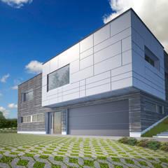 HAUS WHL:  Häuser von AL ARCHITEKT - Architekten in Wien